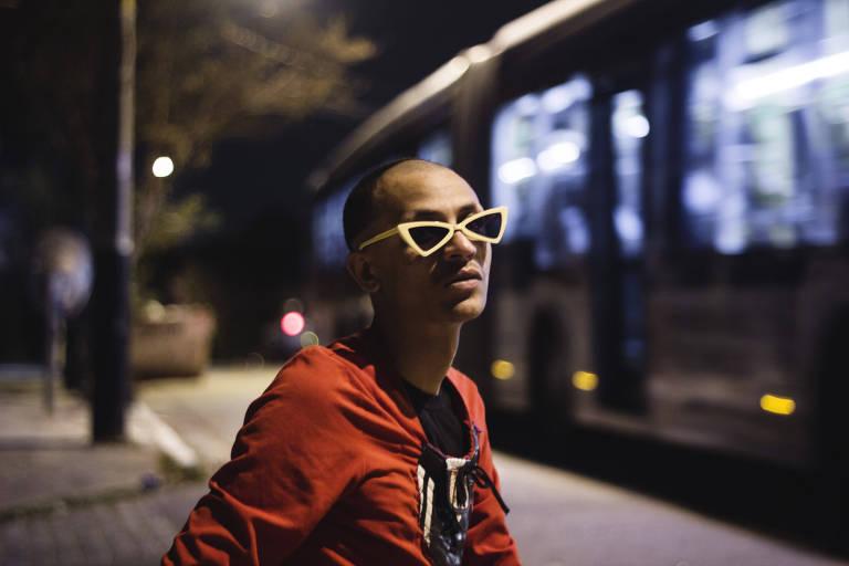 O rapper Edgar, de Guarulhos, que participou de faixa de Elza Soares