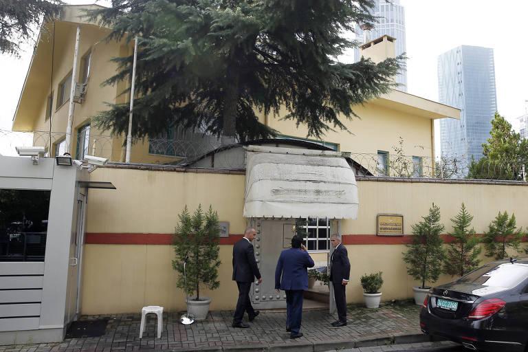 Autoridades sauditas entram no consulado do país em Istambul nesta sexta (12)