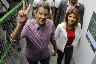 Fernando Haddad, Ana Estela