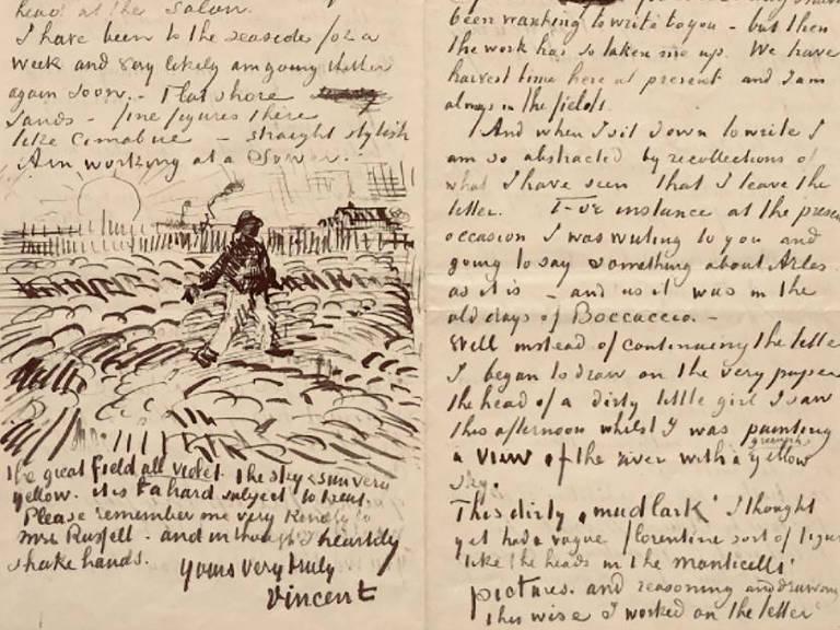 escritos e desenho de lavoura