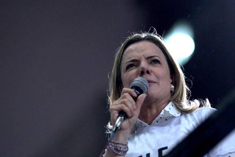 Gleisi Hoffmann é presidente do PT e coordenadora política da campanha