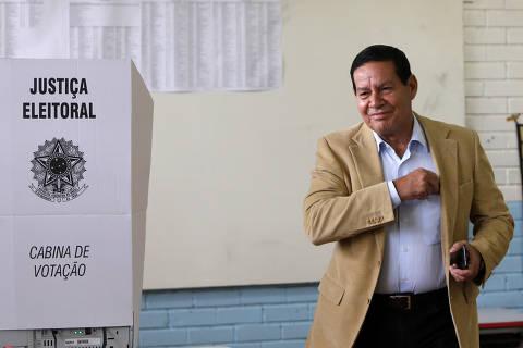 Mourão diz que Previdência é carro-chefe do governo Bolsonaro