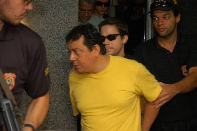 Prisão de Valdebran Carlos Padilha da Silva durante a campanha de 2006