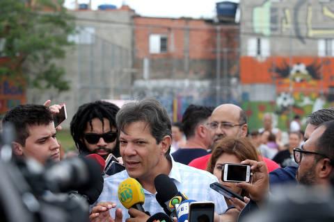 Sobre ministérios, Haddad diz que sugeriu Cortella e confirma diálogo com Joaquim Barbosa