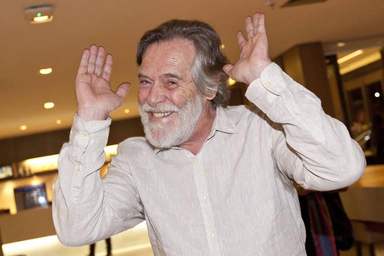 O ator Jose de Abreu na pre-estreia do filme 'Antes que eu me esqueca'