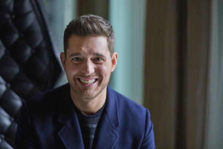 O cantor canadense Michael Bublé