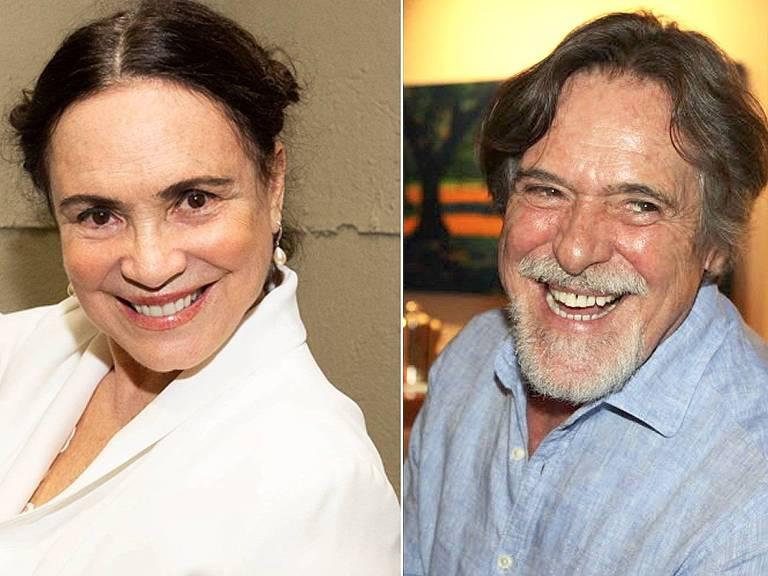 Regina Duarte e Zé de Abreu