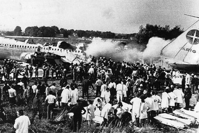 Acidente com o avião da Varig em Orly deixou 123 mortos em 1973