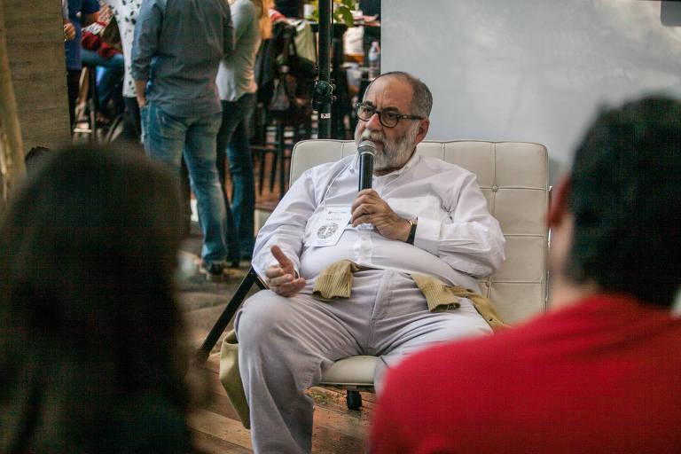 Carlos Alberto Dória no Festival Fartura de 2016, em São Paulo