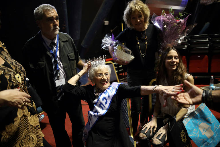 Nascida na Polônia, Tova Ringer foi eleita Miss Holocausto Survivor