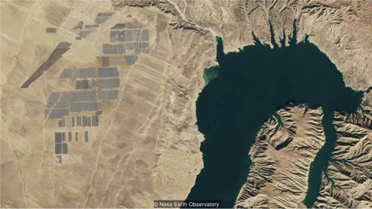 Painéis solares na China