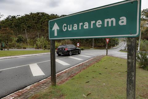 GUARAREMA, SP, BRASIL. 28.09.2018.  Nas cidades da grande São Paulo, o municipio de Guararema foi a única a não registrar ocorrência de homicídios nos úlimos 2 anos.   Entrada da cidade (foto: Rubens Cavallari/Folhapress, NAS RUAS, ****ESPECIAL****). ***EXCLUSIVO AGORA***EMBARGADA PARA VEICULOS ON LINE***UOL E FOLHA.COM E FOLHAPRESS CONSULTAR FOTOGRAFIA DO AGORA SÃO PAULO***f: 3224-2169, 3224-3342.   Selene Id:563448