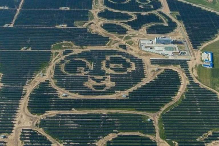 As impressionantes fazendas solares da China que estão transformando a geração de energia mundial