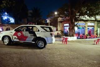 Briga em bar no Jardim Monte Kemel em SP causa morte.