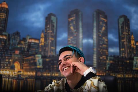 São Paulo SP 08 10 2018- MC Fioti, do funk