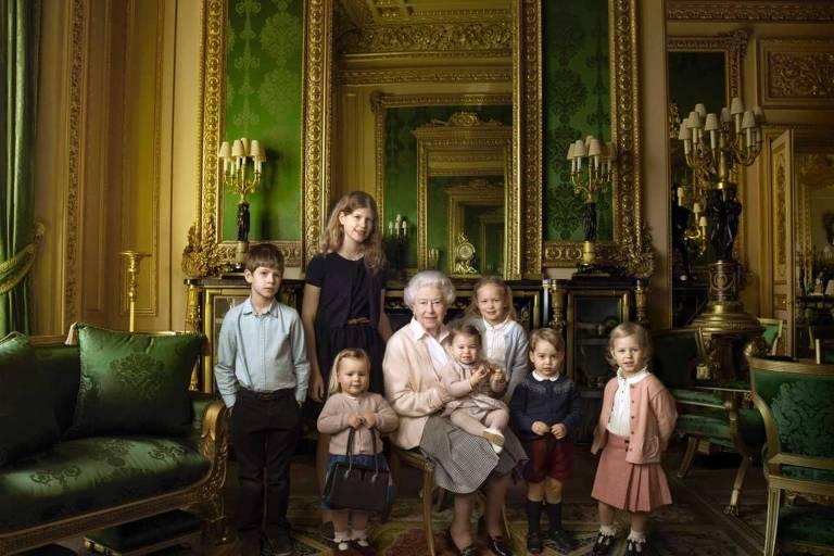 Crianças da família real britânica