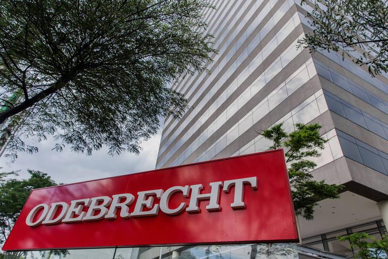 Fachada da sede da Odebrecht na zona oeste de São Paulo