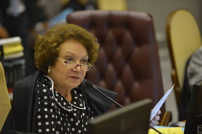 Nancy Andrighi, ministra do STJ, durante sessão do Conselho Nacional de Justiça, em Brasília