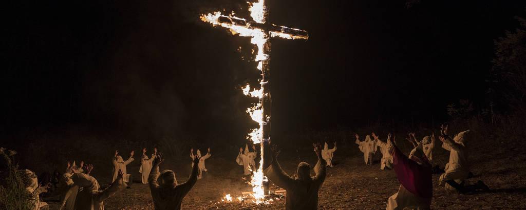 Cena do filme 'Infiltrado na Klan', que será exibido na Mostra de Cinema de São Paulo