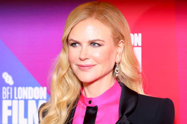 """Nicole Kidman chega à pré-estreia do filme """"Destroyer"""", durante o Festival de Filmes de Londres"""