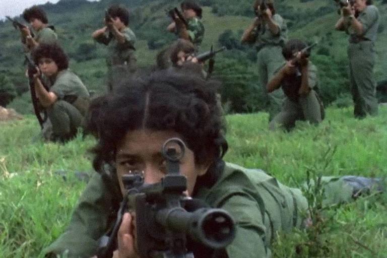 Cena do filme 'Sandinistas', exemplo de filme politizado da Mostra de Cinema de São Paulo