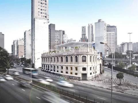 Depois de passar por reformas, casarão reabriu como sede da Red Bull Station em 2013