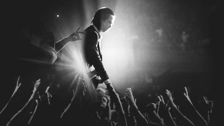 O cantor e compositor australiano Nick Cave, que se apresenta com a banda Bad Seeds em São Paulo