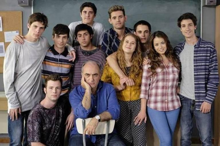 Elenco da série 'Merlí', exibida no Brasil pela Netflix