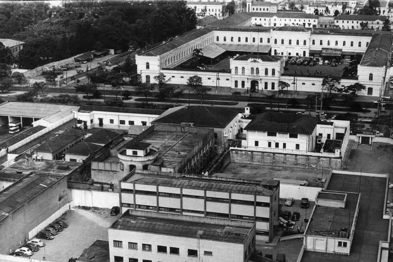 Vista do presídio de Tiradentes, para onde parte dos estudantes presos no 30º Congresso da UNE (União Nacional dos Estudantes), em Ibiúna (SP), foram levados por soldados da Força Pública