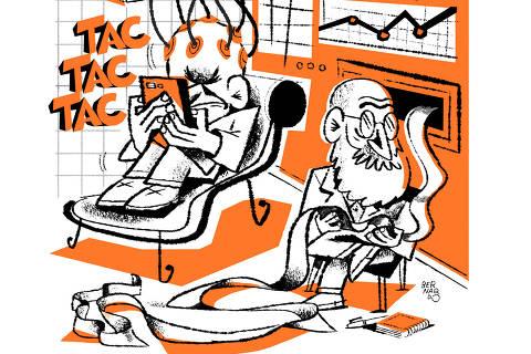 Ilustração de Bernardo França para TEC