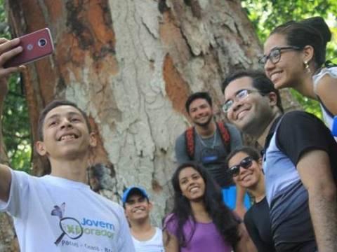 O professor de história Levi Jucá, de 30 anos, criou o projeto Jovem Explorador