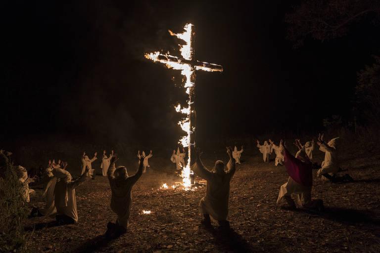 Cena do filme 'Infiltrado na Klan', exemplo de filme politizado da Mostra de Cinema de São Paulo