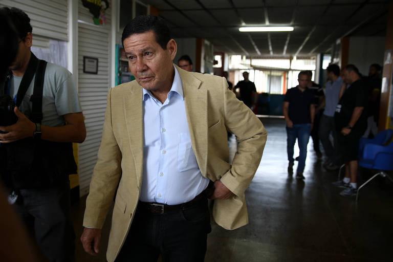 O candidato a vice presidente na chapa de Jair Bolsonaro (PSL), General Hamilton Mourão