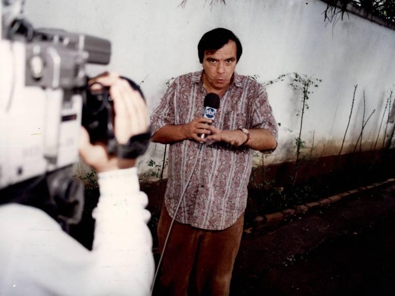 Releia entrevista do repórter policial Gil Gomes à Folha, há 25 anos