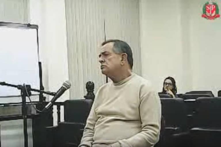 7960672069bf9 Tenente-coronel José Afonso Adriano Filho presta depoimento no TJM em SP -  reprodução