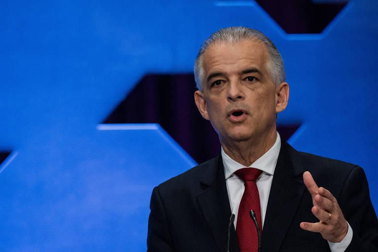 O candidato ao governo de SP pelo PSB, Márcio França