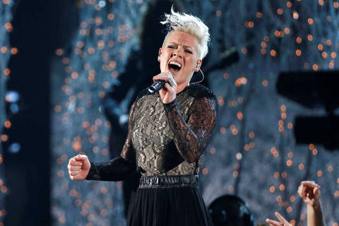FILE PHOTO: Pink performs