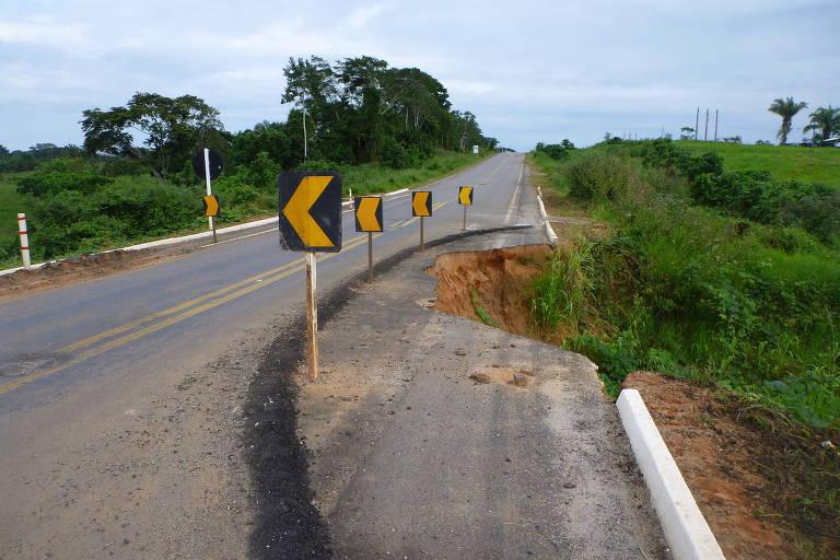 Estrada em Sena Madureira (AC)