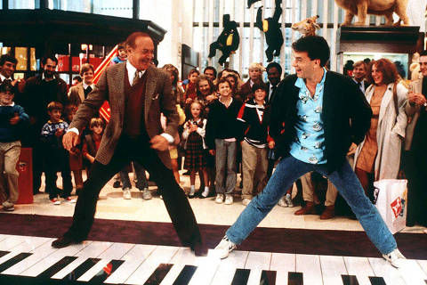 O ator Tom Hanks [Tom.Hanks] em cena do filme