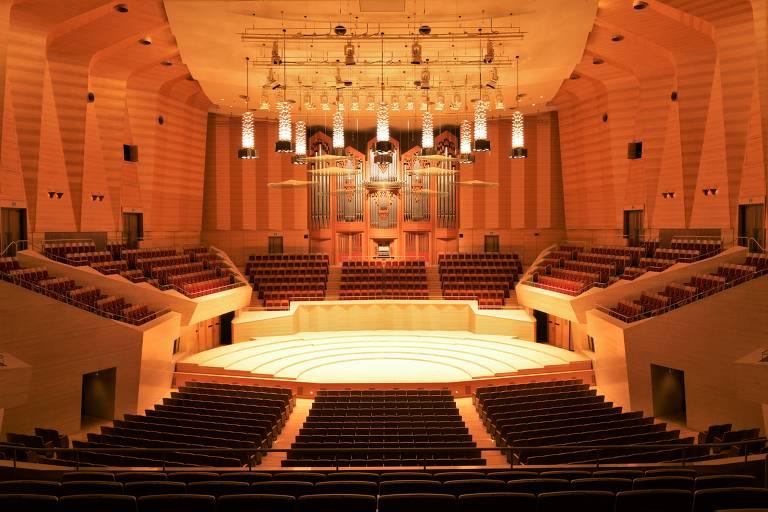Cinco salas de concerto renomadas