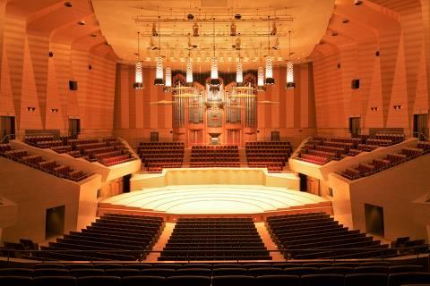 Teatro Suntory Hall, em Tóquio, no Japão