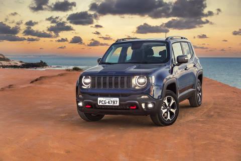 Jeep Renegade 2019 na versão Trailhawk, com motor a diesel
