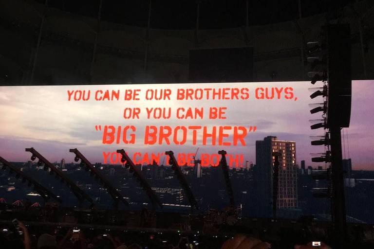 Show de Roger Waters em Salvador, nesta quarta-feira (17)