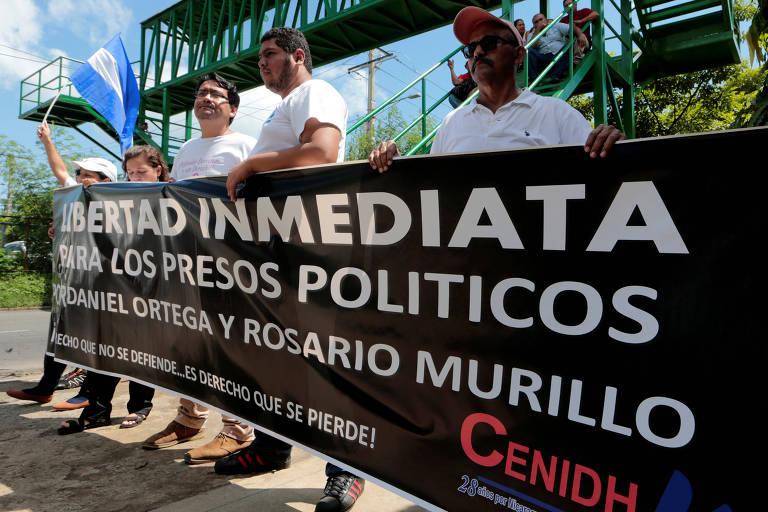 Nicarágua condena manifestantes a até 25 anos de prisão