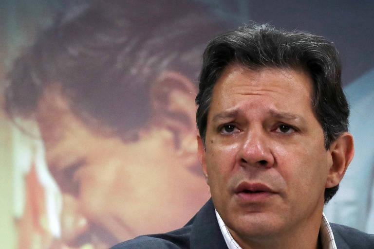 Candidato do PT à Presidência, Fernando Haddad