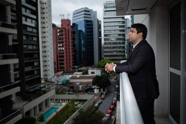 Eduardo Lourenço Neto, 37, franqueado da Super Estágios em São Paulo