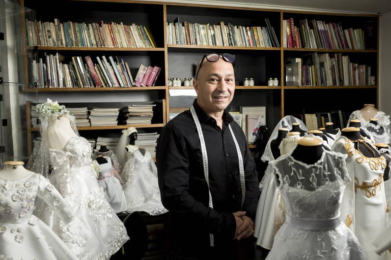 Aluízio de Freitas, diretor-executivo da Sigbol Fashion, numa unidade da escola  de moda em SP