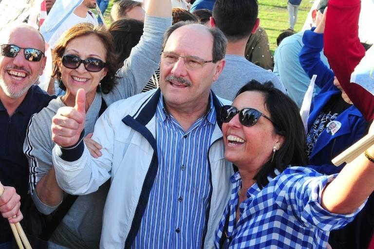 O governador do Rio Grande do Sul, José Ivo Sartori (MDB), que é candidato à reeleição