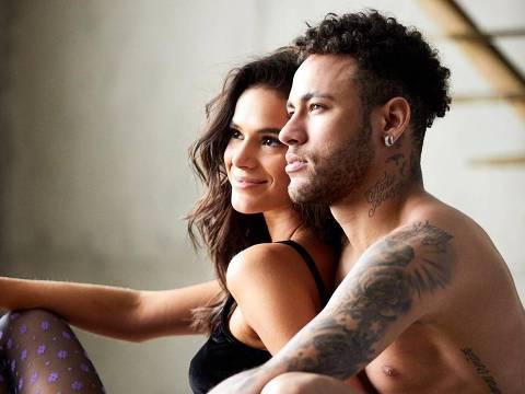 Neymar e Bruna Marquezine em propaganda da C&A