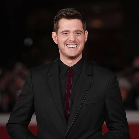 Canadian singer Michael Buble arrives at the Auditorium during the 11th Rome Film Festival on October 14, 2016 in Rome.  / AFP PHOTO / TIZIANA FABI ORG XMIT: 1421